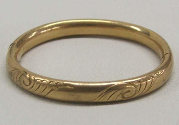 Vintage Estate Child's Gold Bracelet