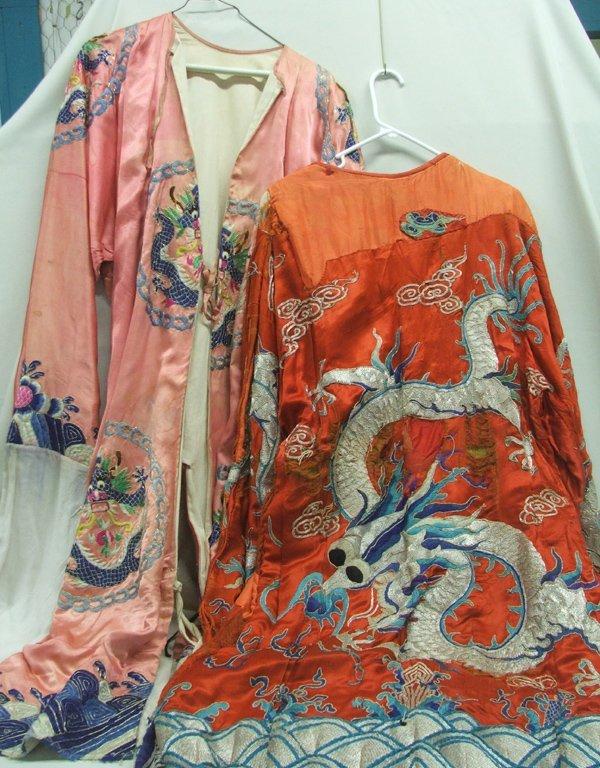 2 Silk Dragon Cantonese Dragon Opera Robes