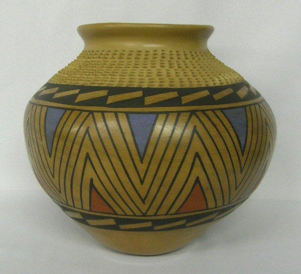 Mata Ortiz Polychrome Pottery By Jesus Pena
