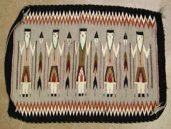 Navajo 5 Yei Weaving