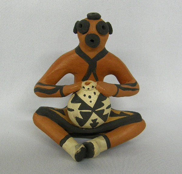 Jemez Pottery Figure by B Fragua