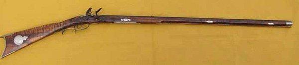 1800s Original Flintlock Kentucky Rifle
