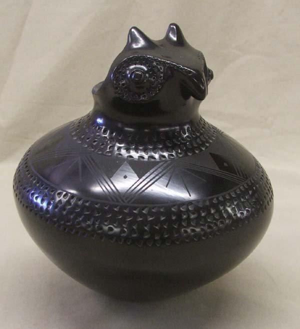 Mata Ortiz Owl Pot by Paty Quezada
