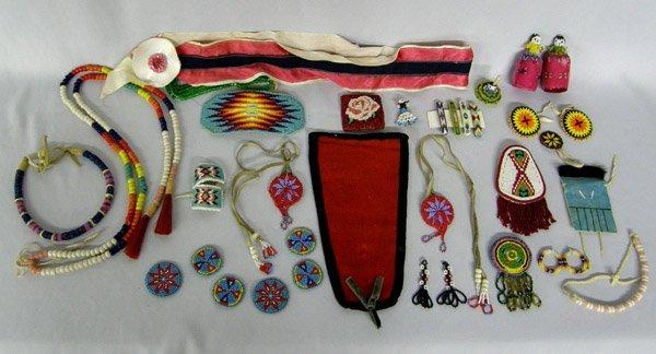 Pueblo Beaded Jewelry & Hair Adornments