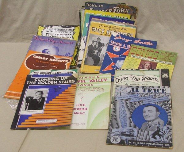 Vintage Music Song Books & Sheet Music, 25+
