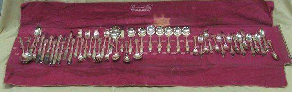 Rose and Leaf National Silverplate Service
