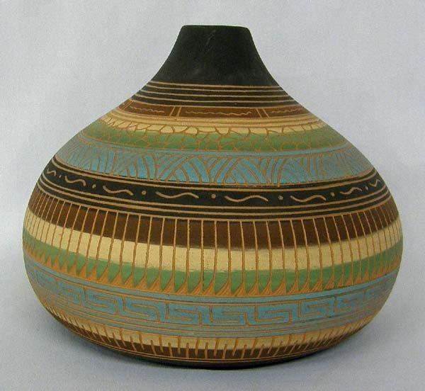 Navajo Pottery By Tanya & Garrett Bennett
