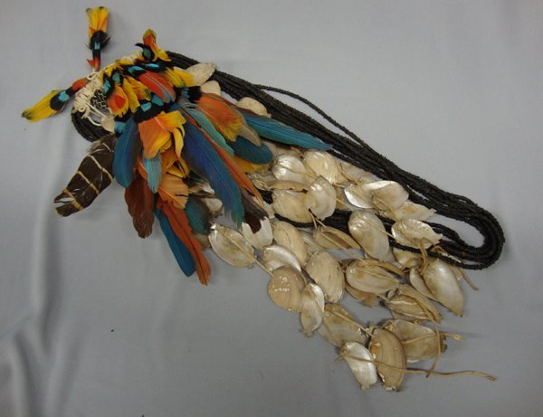Brazilian Feather Necklace