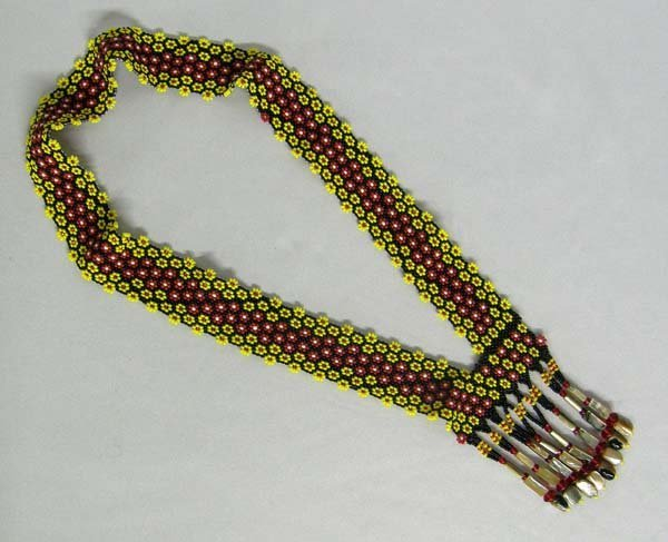 California Pomo Beaded Necklace