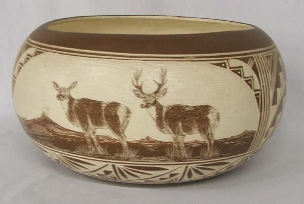 Navajo Bowl By R. John