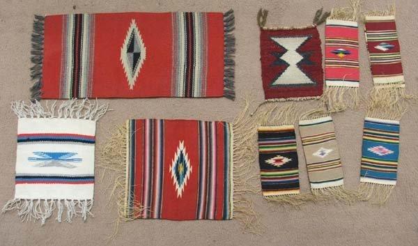 9 Vintage Chimayo Textiles
