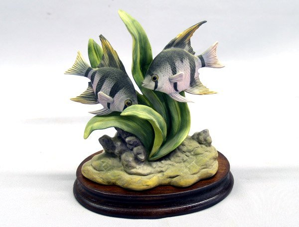 1008: Andrea by Sadek Porcelain Angel Fish