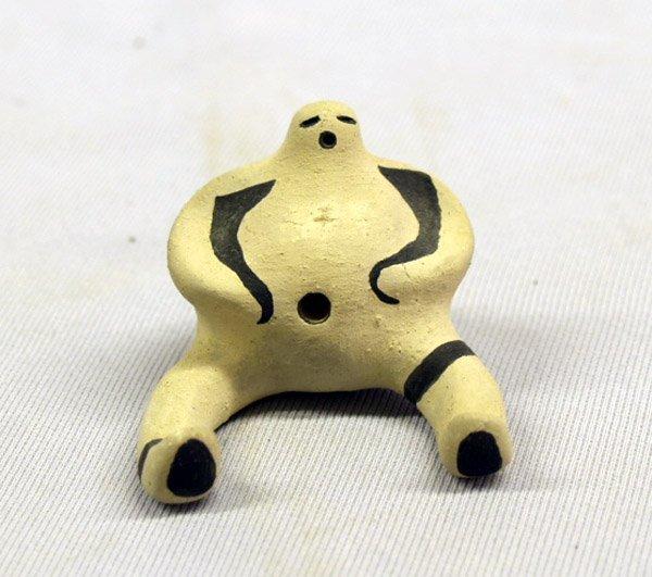 1322A: Acoma Man Effigy Pottery by Nora Naranjo