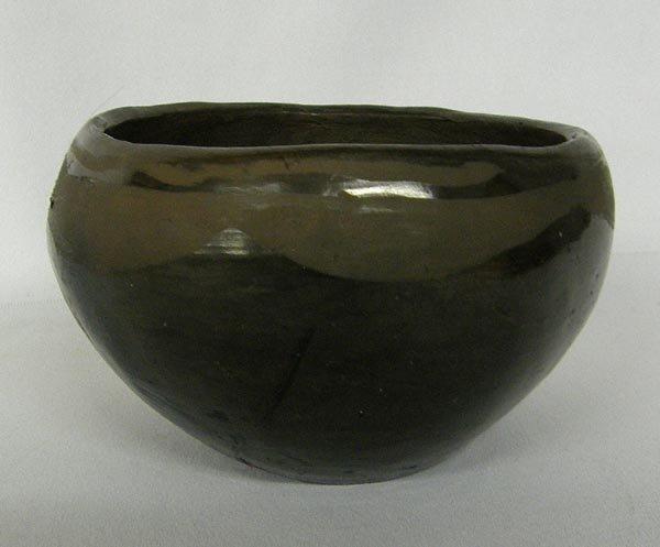 Vintage San Ildefonso Pottery Bowl