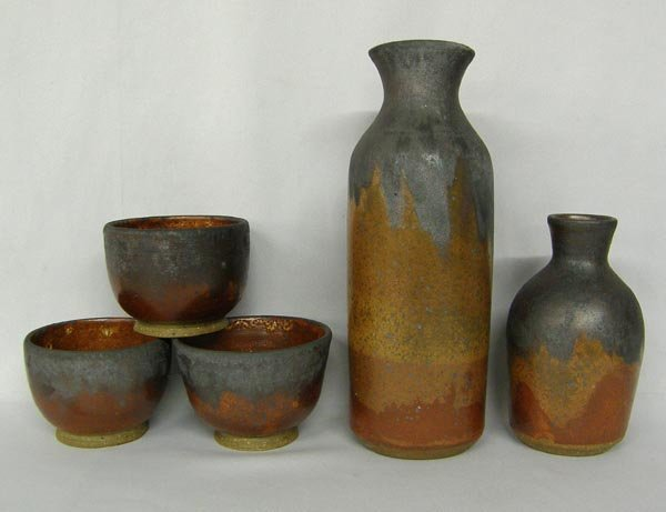 5 Hand Thrown Pottery by artist Sotelo III