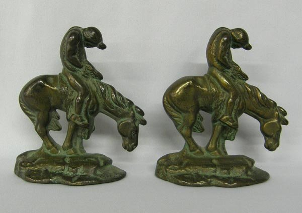 Pr Cast Iron End Of Day Bookends