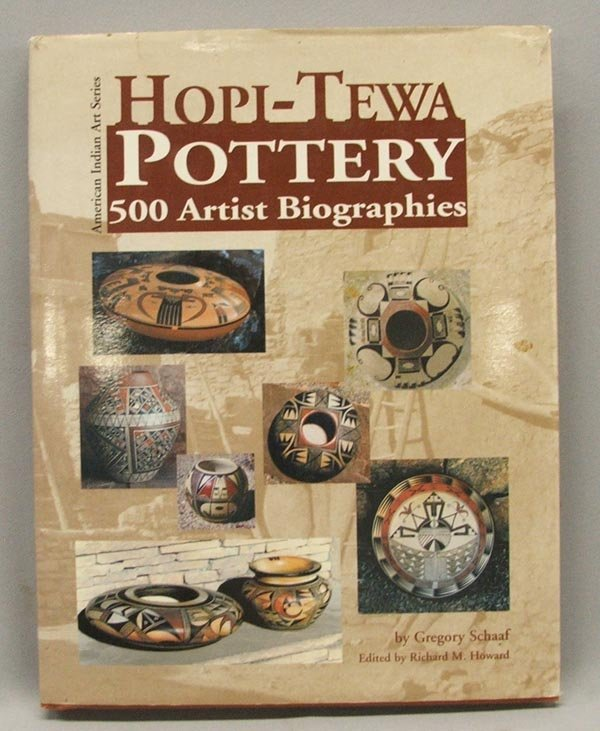 Hopi Pottery Book By Gregory Schaaf Signed