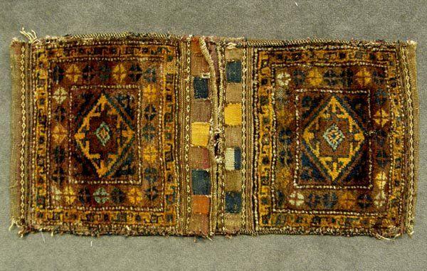 Persian Wool Camel Saddle Bags