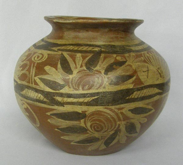 Early 1900s Huastecan Pottery Olla
