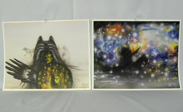 Collection Comanche Hand Signed Prints By Saupitty - 3