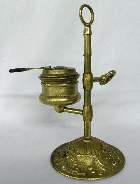 Antique Brass Student Oil Lamp