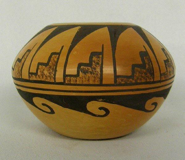 Hopi Miniature Bowl Signed by Verna Nahee