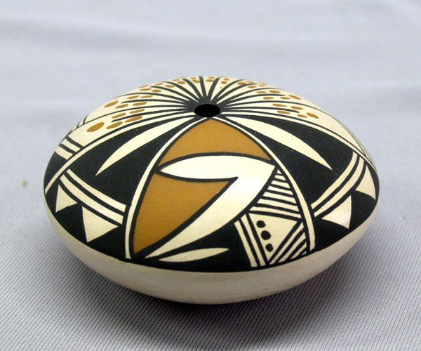 Vintage Acoma Seed Pottery By James Augustine
