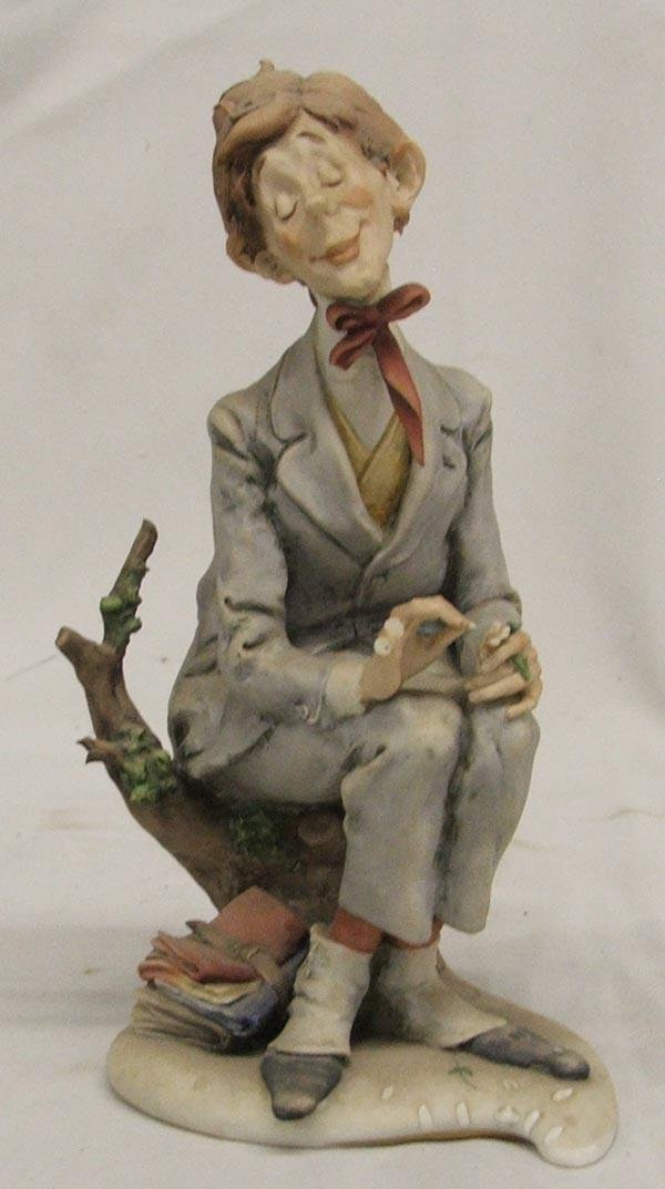 Italian Porcelain Figurine by Guiseppe Cappe