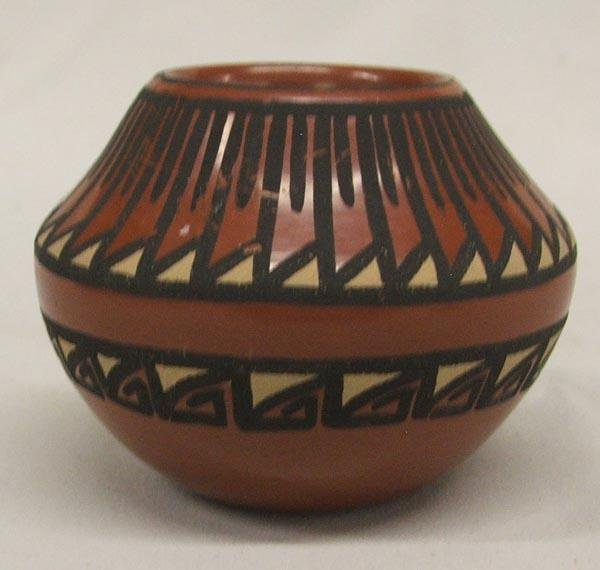 San Ildefonso Pot by Annette