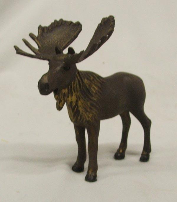 Metal Moose Statue
