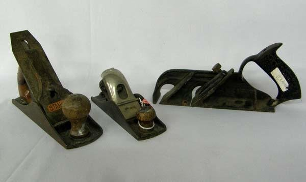 Three Vintage Stanley Planes