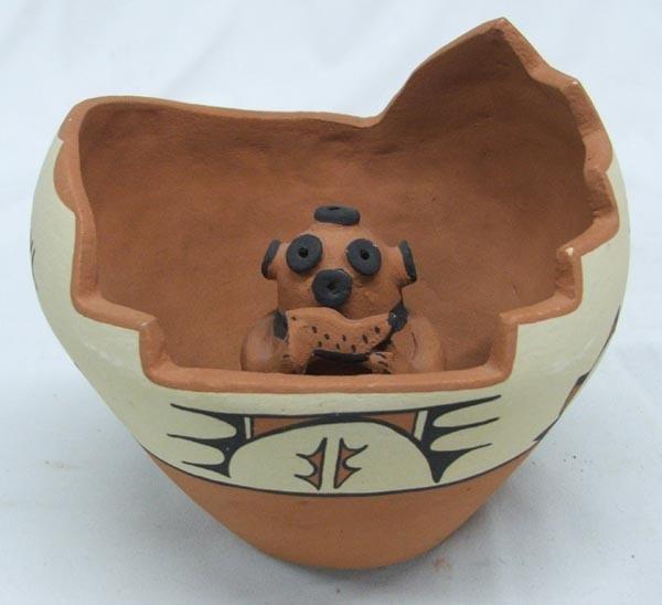 Jemez Kiva Pot by Fragua