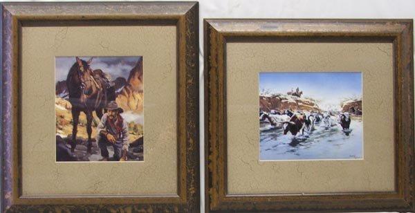 2 Western Prints 1 by McCarthy 1983