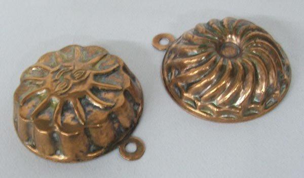 Pr Miniature Copper Molds