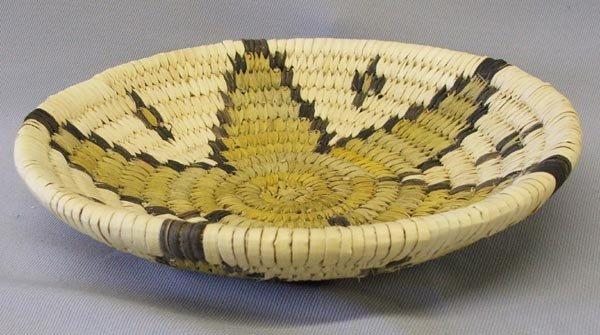 Hopi Star Design Basket