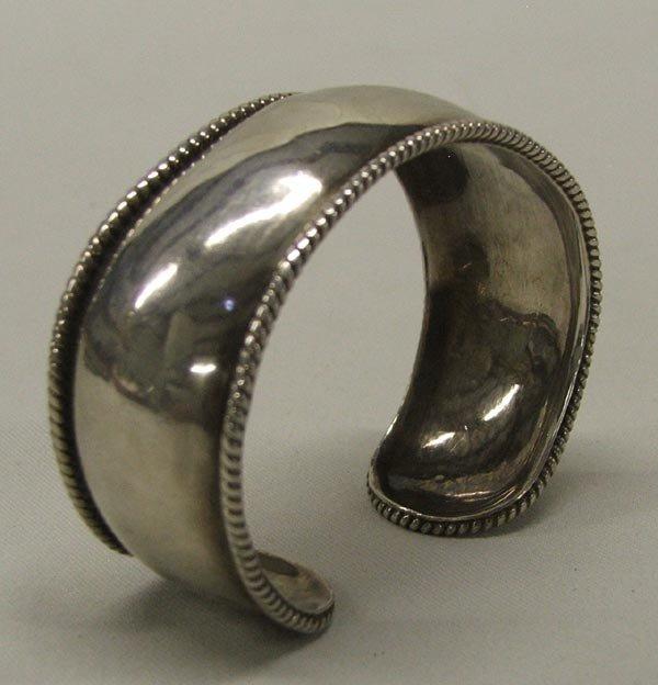 Navajo Silver Cuff Bracelet