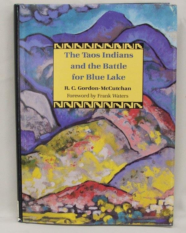 Hardback Book The Taos Indians - Battle for Blue Lake