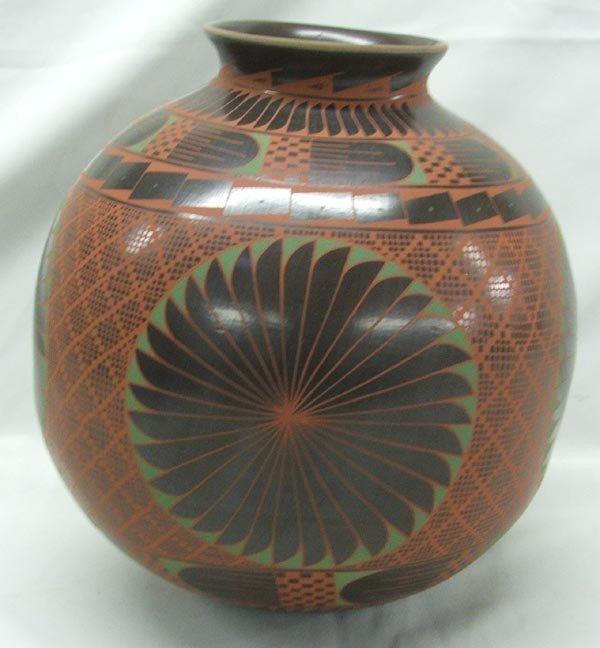 Mata Ortiz Polychrome Pottery by Elfida Tena