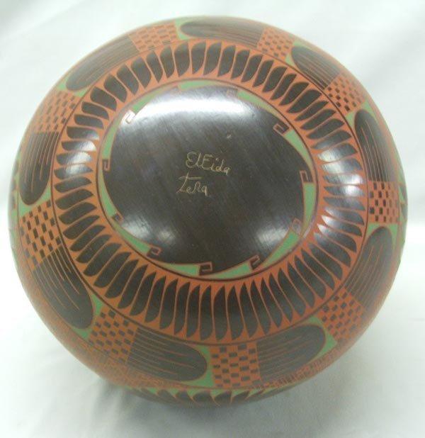 Mata Ortiz Polychrome Pottery by Elfida Tena - 3