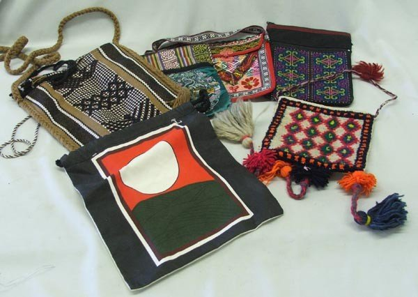6 Ethnic Purses & Pouches