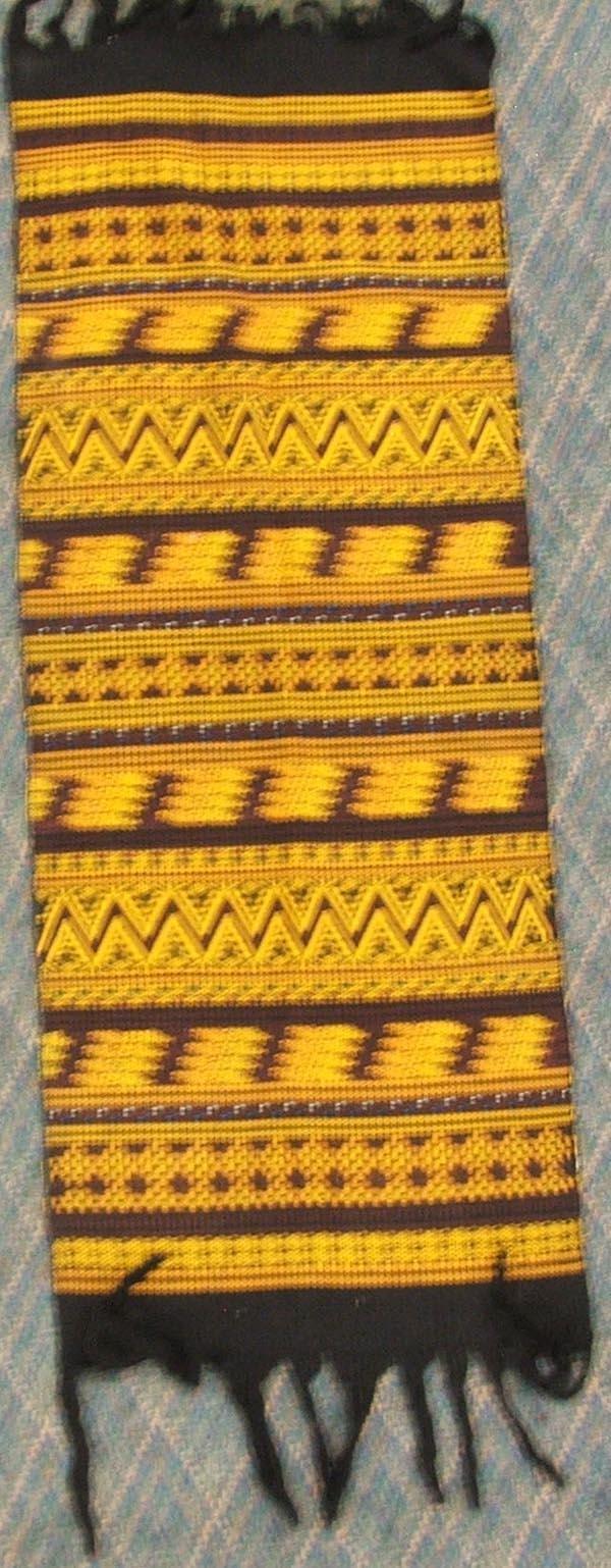 3 Mexican Textiles Throws - 2