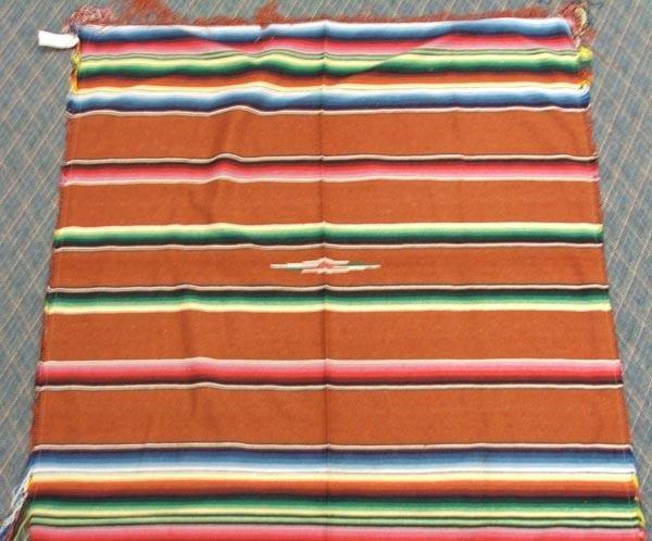 3 Mexican Textiles Throws - 3