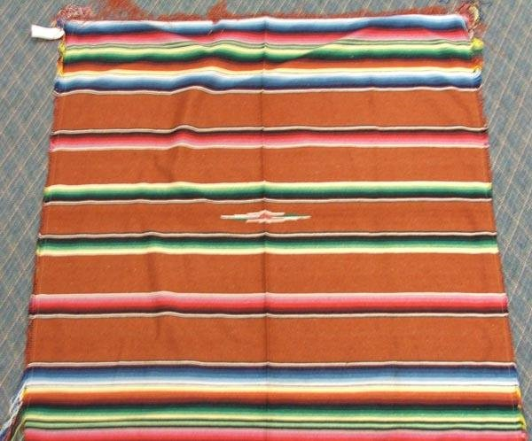 3 Mexican Textiles Throws - 3