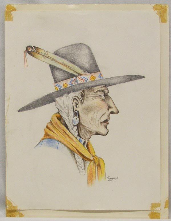 Original Drawing by F. Manning, Jr.