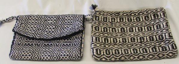 2 Navajo Double Weave Purses
