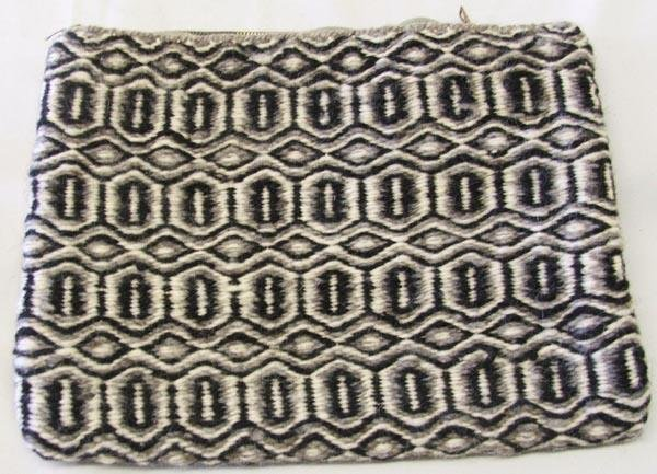 2 Navajo Double Weave Purses - 3