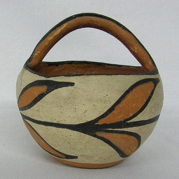 Santo Domingo Pottery Basket
