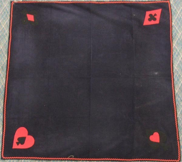 Corduroy/Felt Card Table Cloth