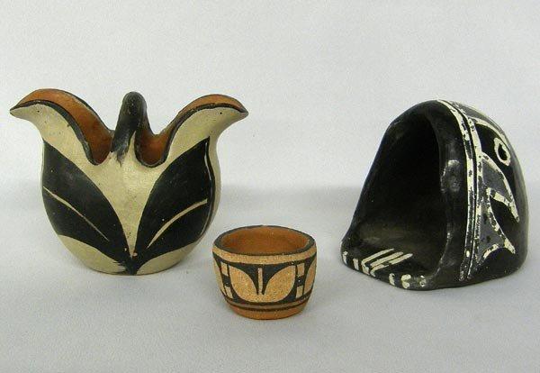 3 Santo Domingo Pottery