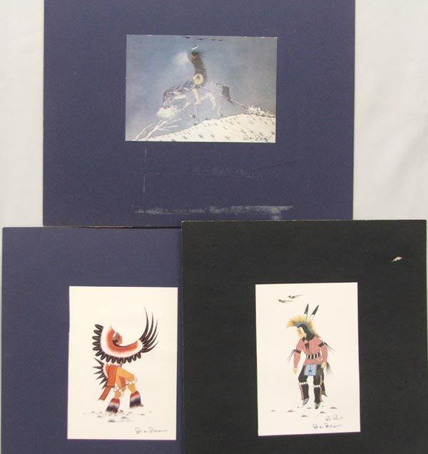 3 Woody Big Bow Prints